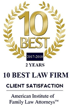 Client Satisfaction 10 Best Law Firm 2 Years